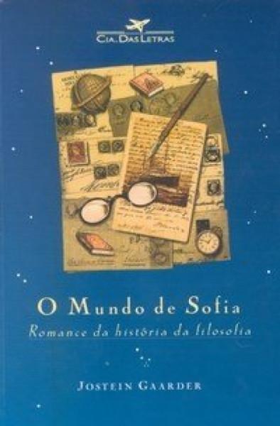 Capa de O mundo de Sofia - Jostein Gaarder