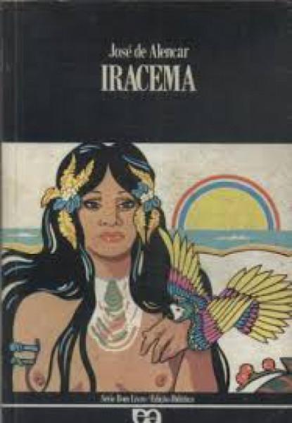 Capa de Iracema - José de Alencar