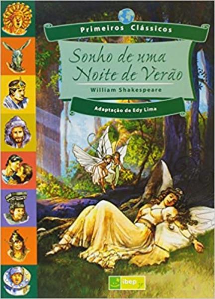 Capa de Sonhos de uma noite de verão - William Shakespeare