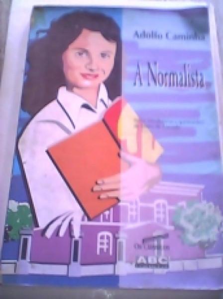 Capa de A normalista - Adolfo Carminha