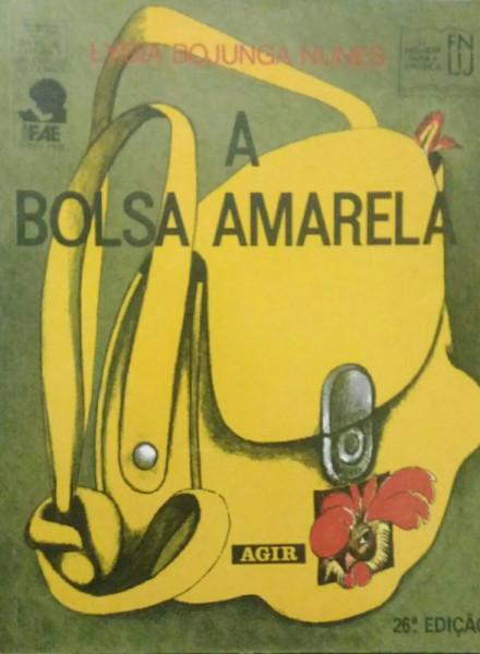 Capa de A bolsa amarela - Lygia Bojunga Nunes