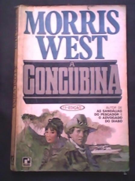 Capa de A concubina - Morris West