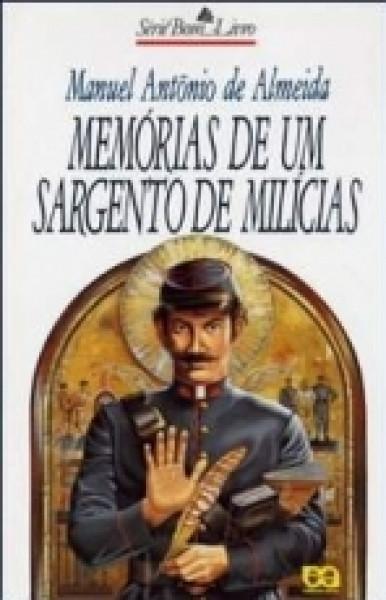 Capa de Memórias de um sargento de milícias - Manuel Antônio de Almeida