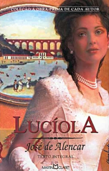 Capa de Lucíola - José de Alencar