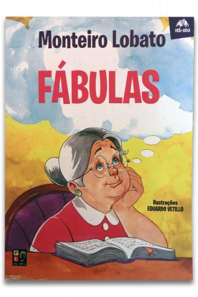 Capa de Fábulas - Monteiro Lobato