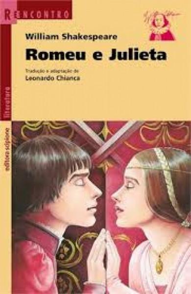 Capa de Romeu e Julieta - William Shakespeare