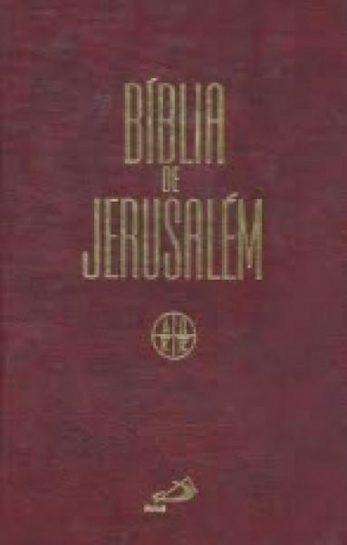 Capa de Bíblia Jerusalém - Jesus