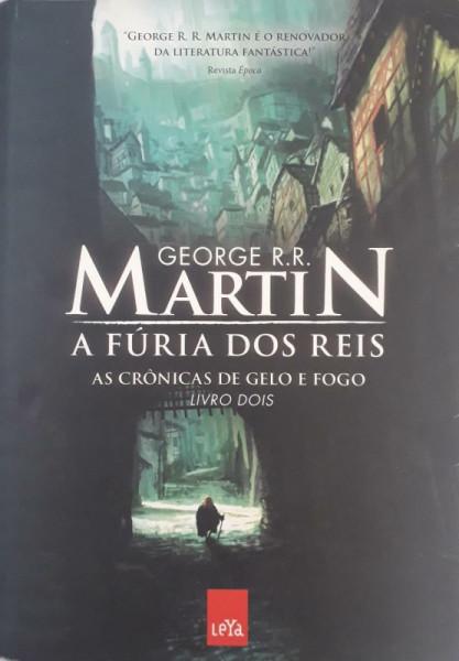 Capa de A fúria dos reis - George R. R. Martin
