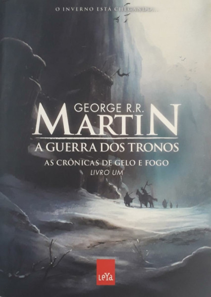 Capa de A guerra dos tronos - George R. R. Martin