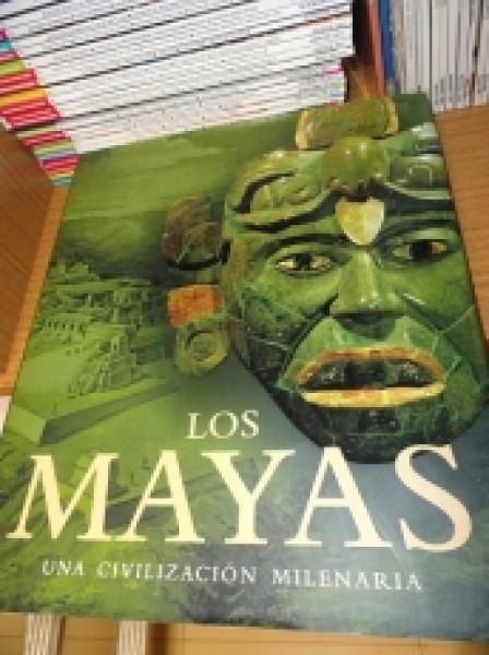 Capa de Los Mayas -