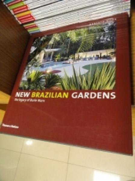 Capa de New Brazilian Gardens - Roberto Silva