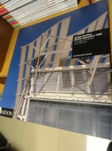 Capa de British Pavilion Seville Exposition 1992 - Nicholas Grimshaw and partners