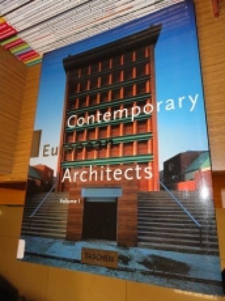 Capa de Contemporary European Architects -