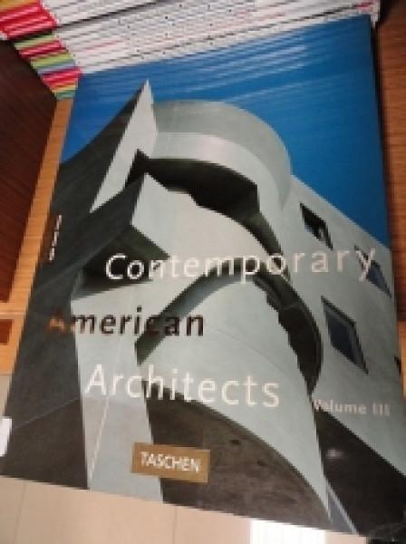 Capa de Contemporary American Architects -
