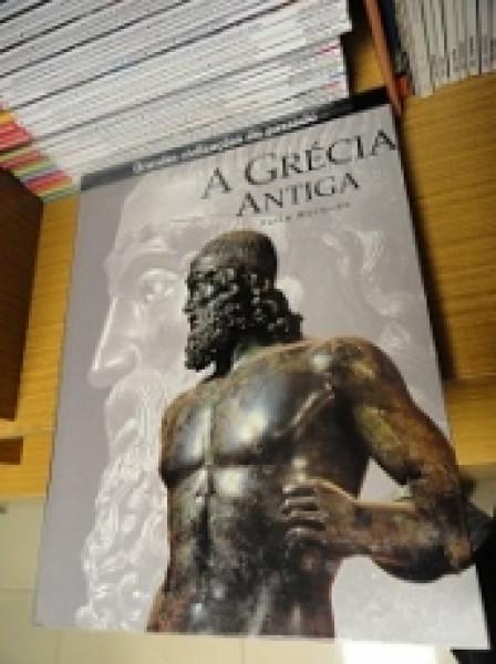 Capa de A Grécia Antiga - Furio Durando