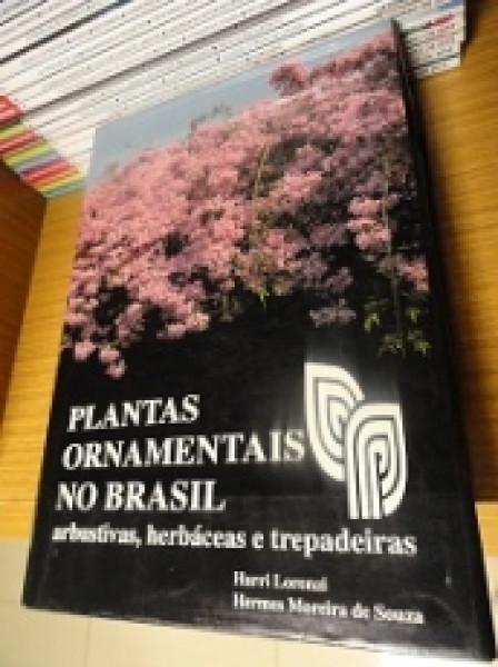 Capa de Plantas Ornamentais no Brasil - Harri Lorenzi e Hermes Moreira de Souza