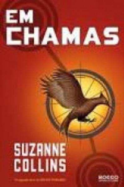 Capa de Em chamas - Suzanne Collins