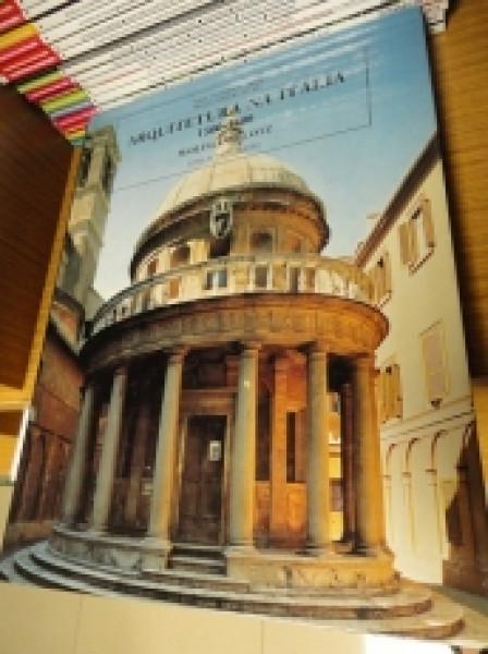 Capa de Arquitetura na Itália - Wolfgang Lotz