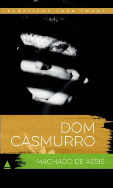 Capa de Dom Casmurro - Machado de Assis