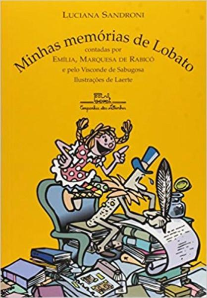 Capa de Minhas memórias de Lobato - Luciana Sandroni
