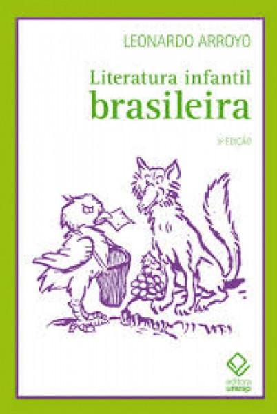 Capa de Literatura Infantil Brasileira - Leonardo Arroyo