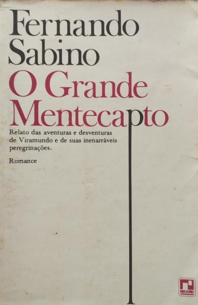 Capa de O grande mentecapto - Fernando Sabino
