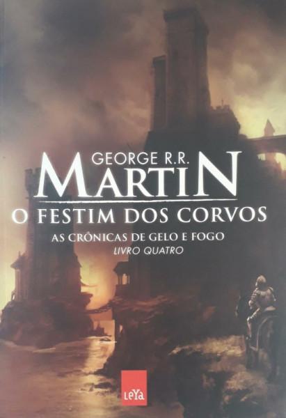 Capa de O festim dos corvos - George R. R. Martin