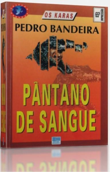 Capa de Pântano de sangue - Pedro Bandeira