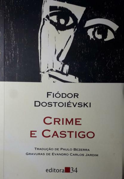 Capa de Crime e castigo - Fiódor Dostoiévski