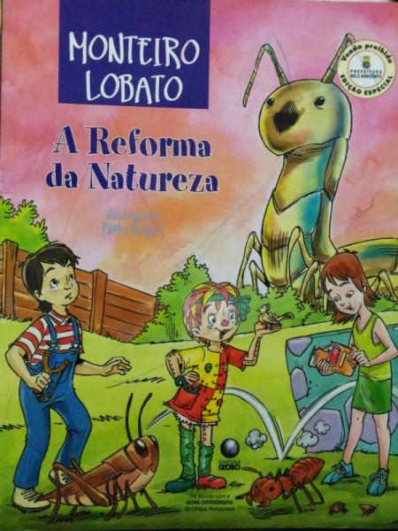 Capa de A reforma da natureza - Monteiro Lobato