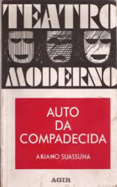 Capa de Auto da compadecida - Ariano Suassuna