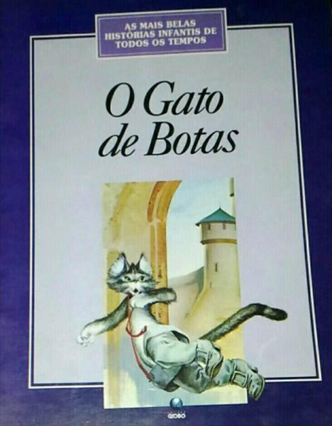 Capa de O gato de botas -
