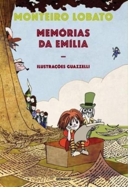 Capa de Memórias da Emília - Monteiro Lobato