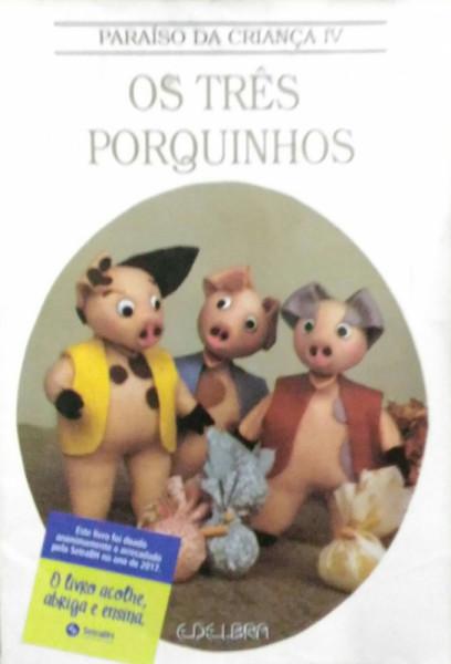 Capa de Os três porquinhos -