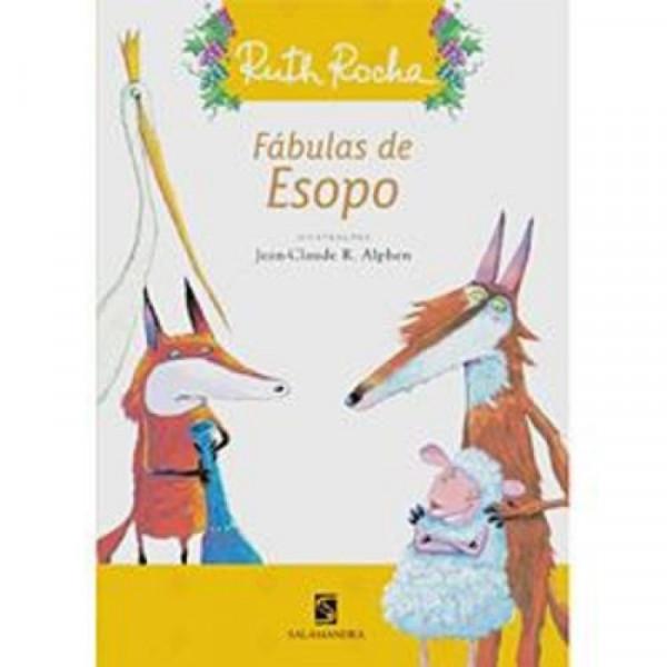 Capa de Fábulas de Esopo - Ruth Rocha