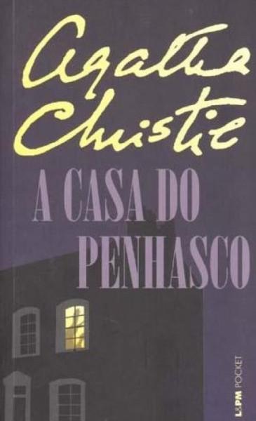 Capa de A casa do penhasco - Agatha Christie