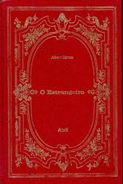 Capa de O estrangeiro - Albert Camus