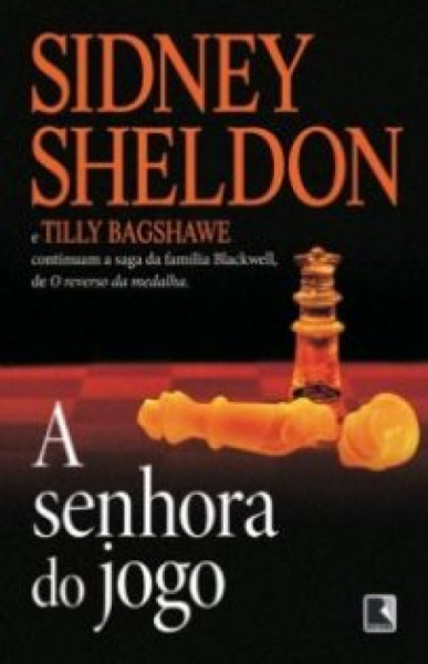 Capa de A senhora do jogo - Sidney Sheldon; Tilly Bagshawe