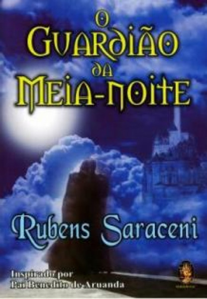 Capa de O guardião da meia-noite - Rubens Saraceni