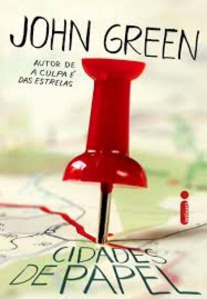 Capa de Cidades de Papel - John Green