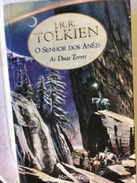 Capa de As duas torres - J. R. R. Tolkien