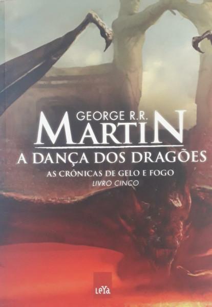 Capa de A dança dos dragões - George R. R. Martin