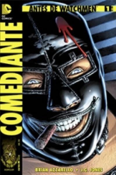 Capa de Antes de Watchmen - Comediante - Brian Azzarello; J. G. Jones