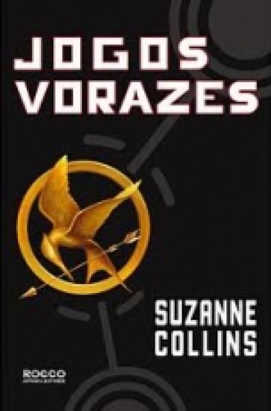 Capa de Jogos vorazes - Suzanne Collins