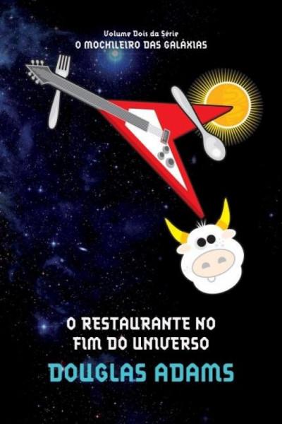 Capa de O restaurante no fim do Universo - Douglas Noël Adams