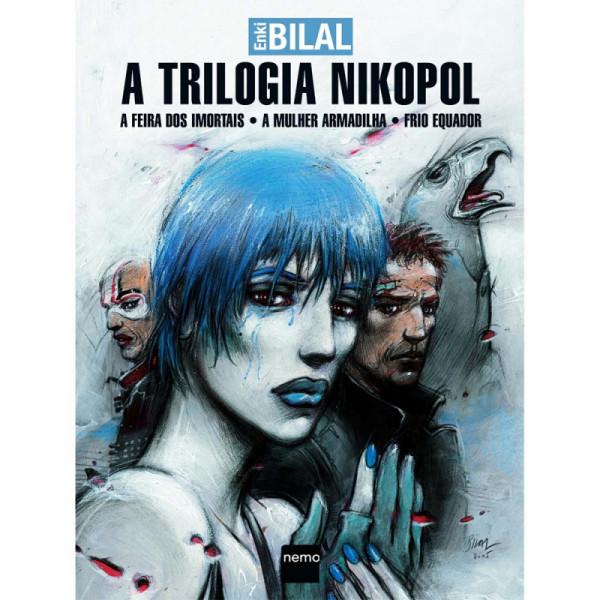Capa de A Trilogia Nikopol - Enki Bilal