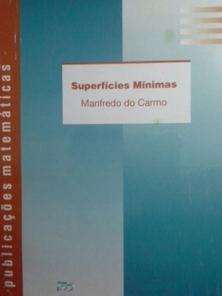 Capa de Superfícies Mínimas - Manfredo do Carmo