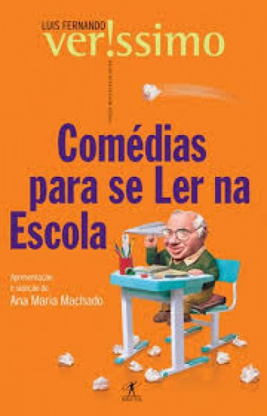 Capa de Comédias para se ler na escola - Luis Fernando Verissimo
