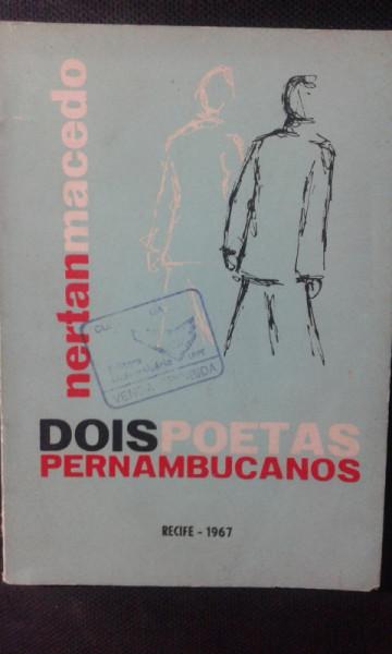 Capa de Dois Poetas Pernambucanos - Nertan Macedo