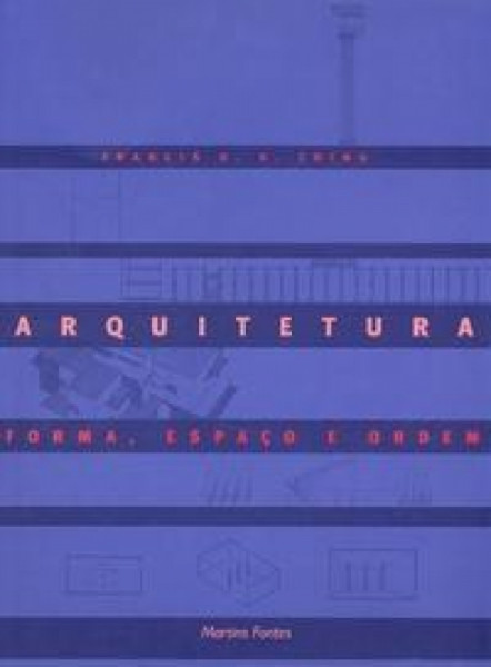 Capa de ARQUITETURA - Francis D. K. Ching